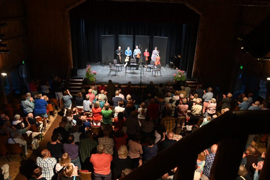 Deertrees Theatre Audience