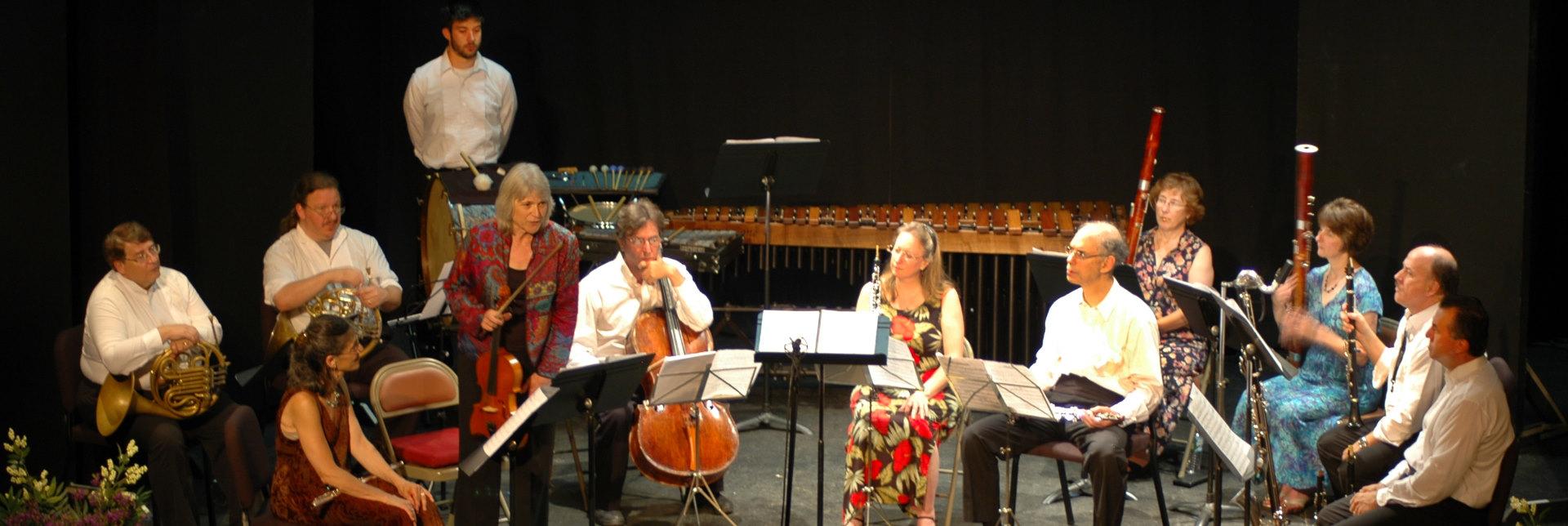 SLLMF Musicians performing at Deertree